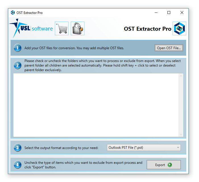 how to convert ost file to pst